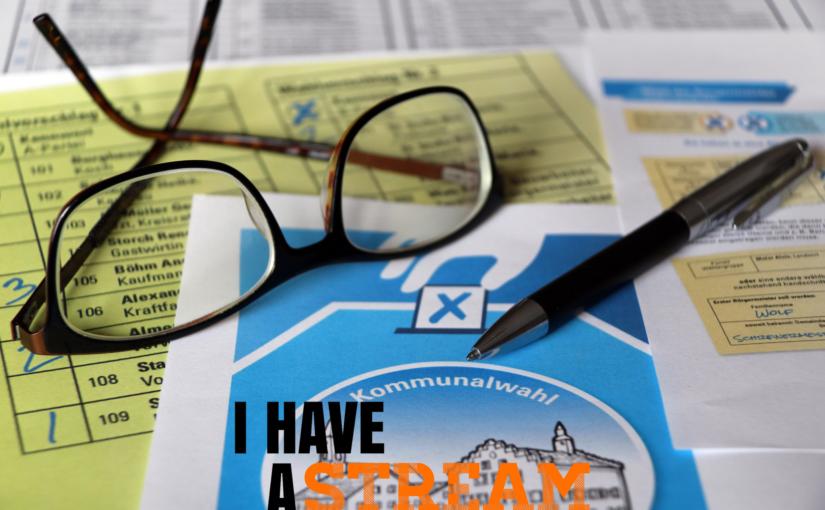 Online-Polit-Talk auf kommunaler Ebene – #ihaveastream